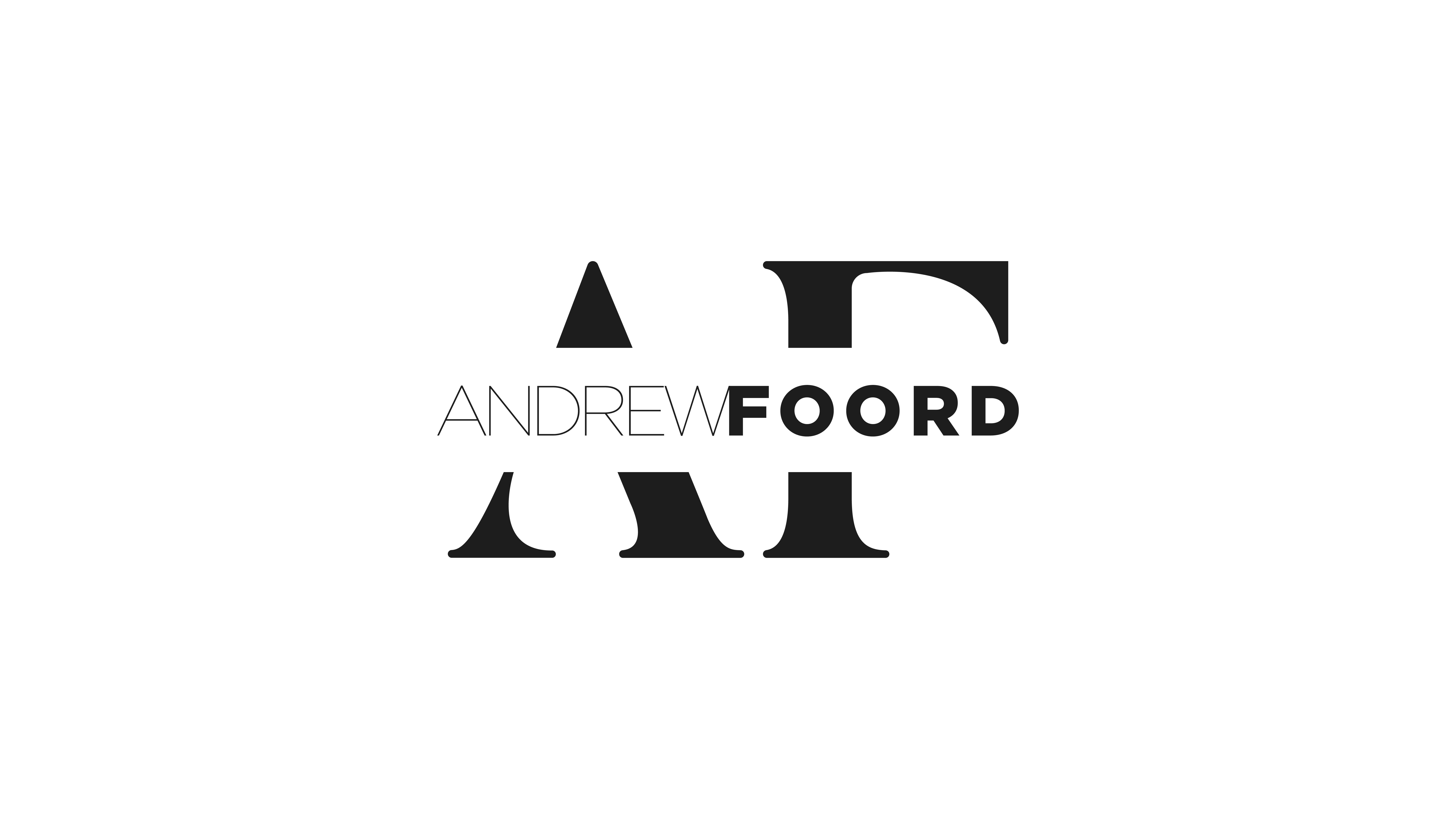 Andrew Foord Photography Brand Mark Dark