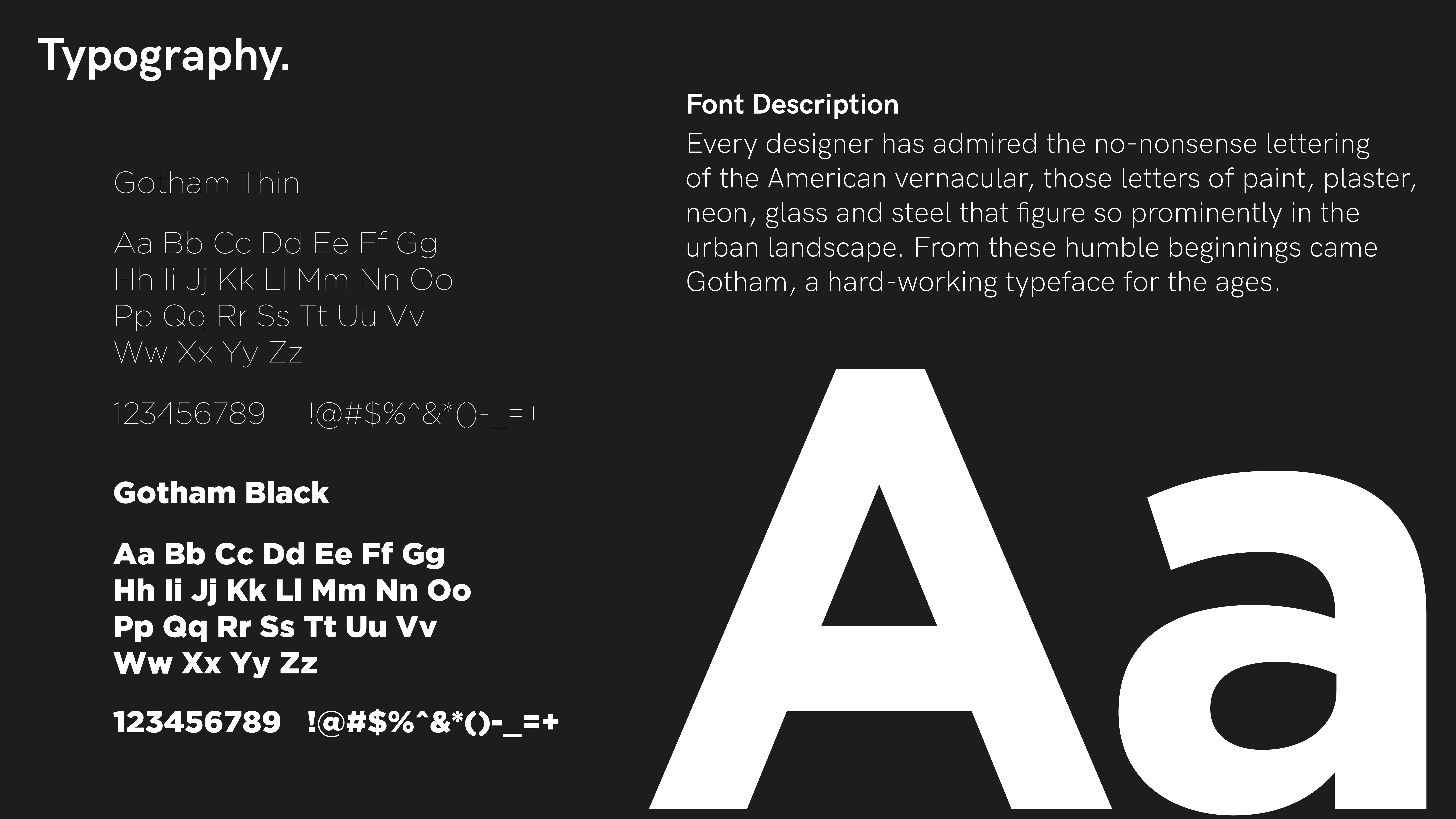 Andrew Foord Photography Branding Typography