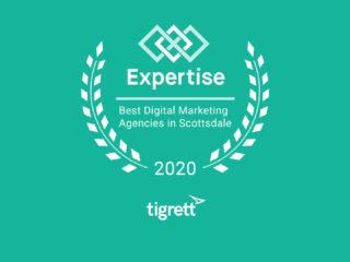 Tigrett Agency Named Top 10 Digital Marketing Agency, Scottsdale, AZ