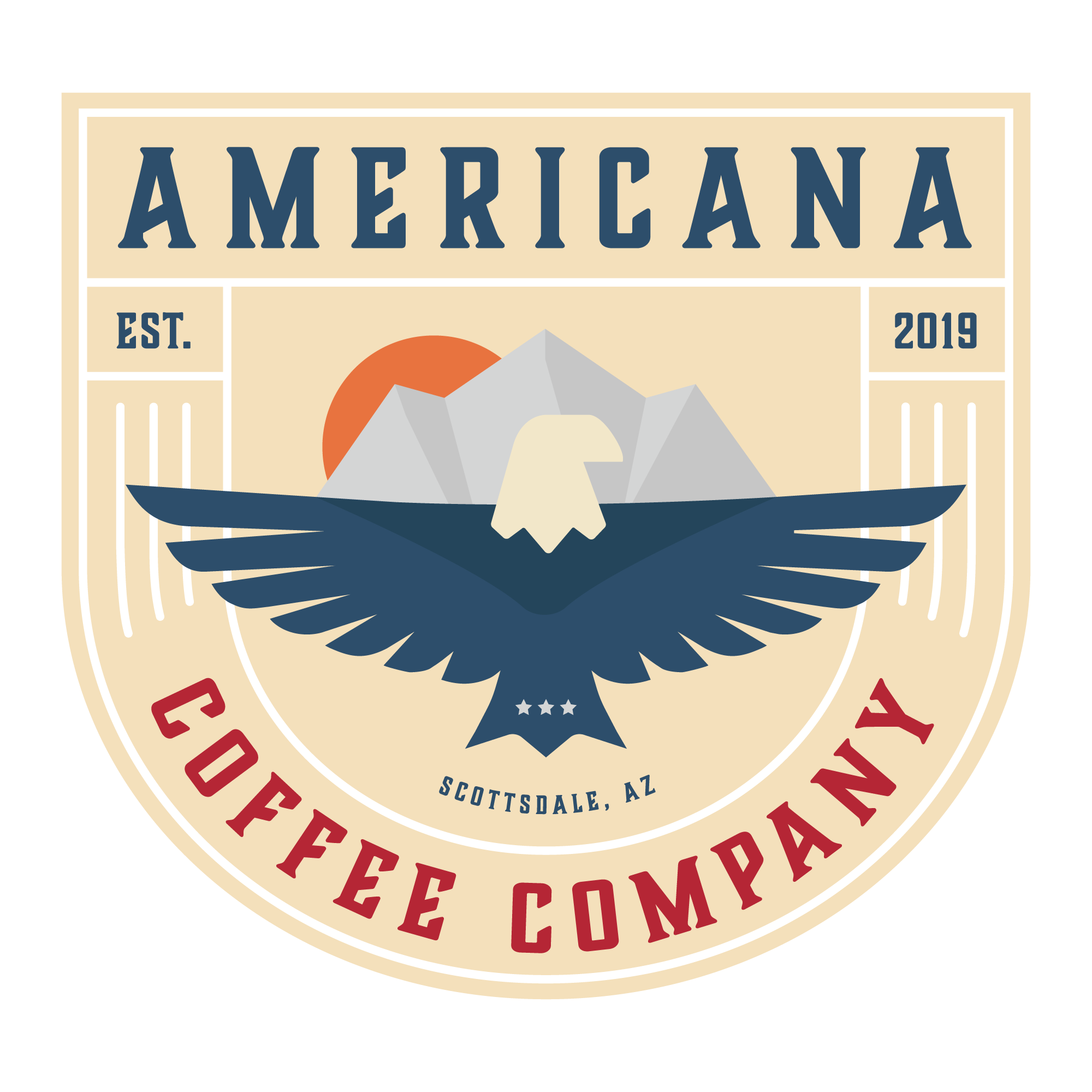Phoenix Branding Agency - Coffee Shop Logo Design - Badge 1