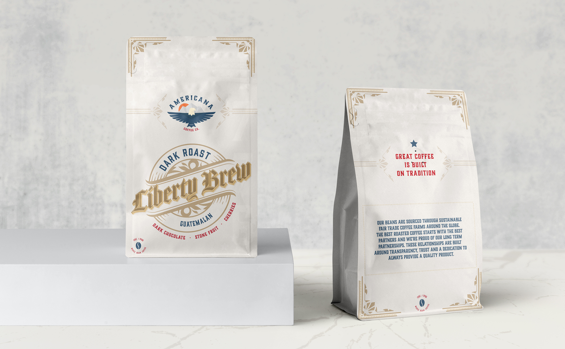 Phoenix Packaging Design Agency - Coffee Bag Design and Branding - Coffee Bag Mockup