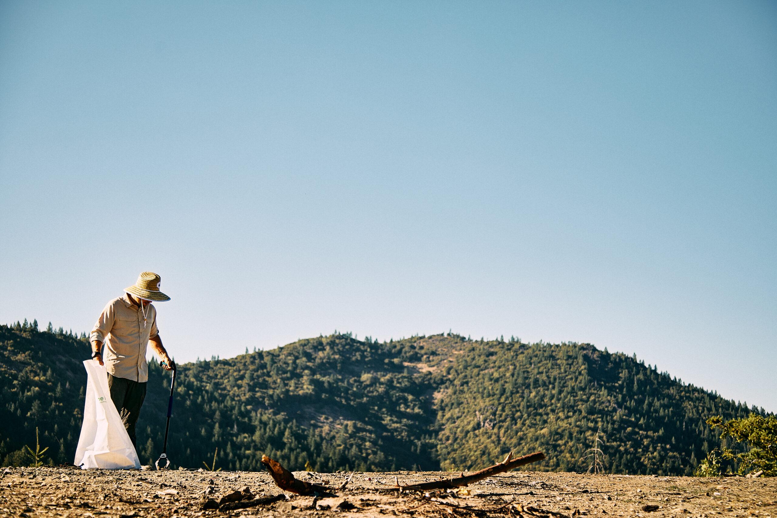 Scottsdale Brand Lifestyle Photography - Environmental Efforts Picking Up Trash