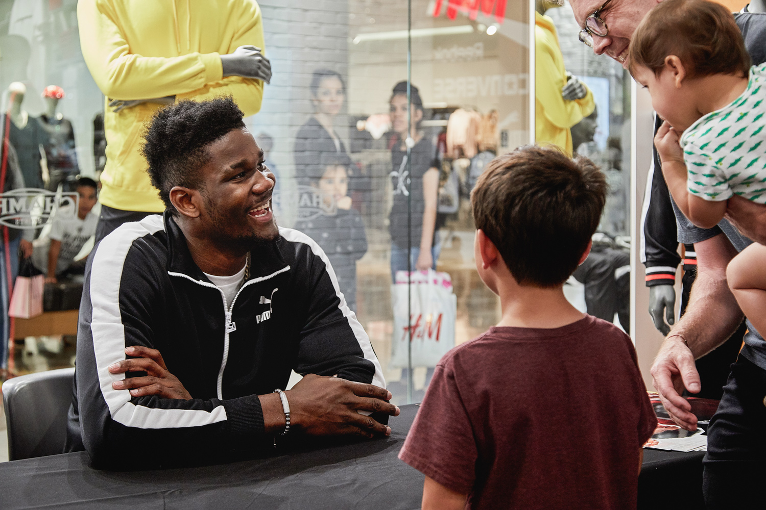 Puma Hoops Deandre Ayton Brand Activation Event Photography